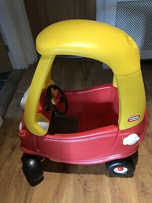 Little Tikes Cozy Coupe Push Car - Red AND Petrol Pump • 25£