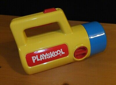 1990s Vintage Playskool Torch Changes Colour Red, Green, White, Auto Cut Off • 8£