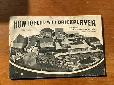 Brickplayer Mixed Sets From Fifties And Sixties. • 10£