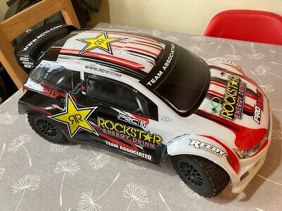 Radio Control Model Rally Car - Team Associated, 1/8 Scale, Brushless Rally Car • 100£