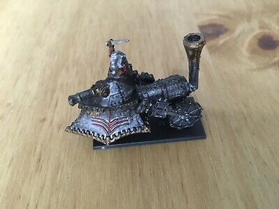 Games Workshop Warmaster Empire  Metal Steam Tank With Base Painted • 16£