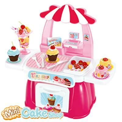 Mini Cake Shop Play Set - 34 Accessories 3+ • 19.95£