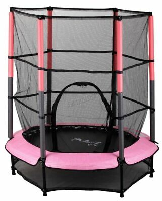 Westwood 4.5ft Trampoline With Enclosure - Pink • 50£