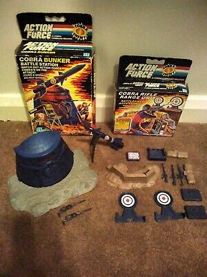 Action Force Cobra Bunker And Rifle Range Boxed Both Fully Complete • 66.66£