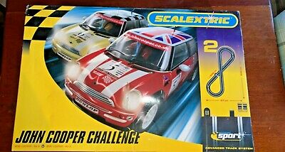 Boxed Scalextric John Cooper Challenge Complete, A Perfect Christmas Present!! • 12.52£