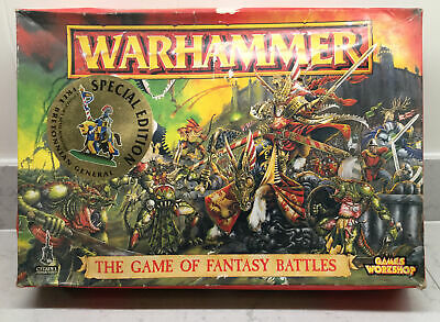 Warhammer Boxed Set 1996. The Game Of Fantasy Battles. Figures Absent. • 5£