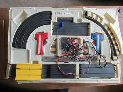 Matchbox Scalectrix Vintage Set Early 1970s. Track, Handsets, Power See Photos • 10£