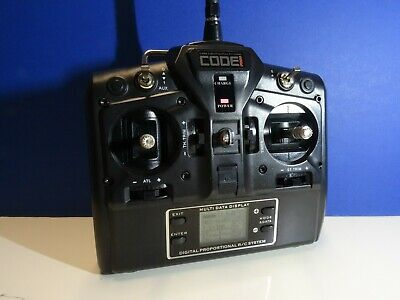 RC Code CR 151 Transmitter 2.4GHZ Core RC Excellent Condition • 30£