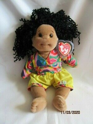 Ty Beanie Babies Kids - Calypso With Outfit - Complete With Tags • 7.99£