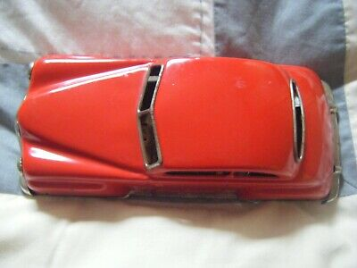 Vintage Tinplate Distler Electro-7000 Futuristic Car, Made In Germany In 1950s • 74£