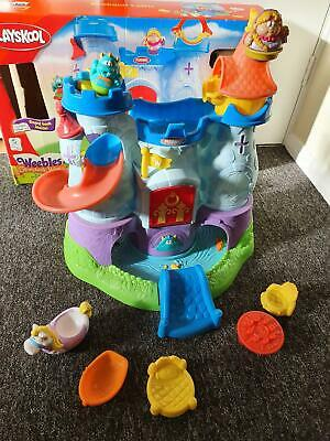 Weebles Playset Weebalot Castle,movement & Sound In Work Order With Box & Extras • 50£