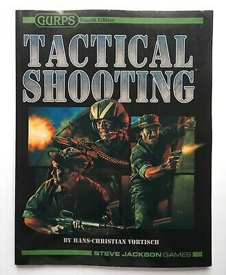 GURPS Tactical Shooting - Steve Jackson Games - 1556348045 • 30£