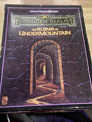 Forgotten Realms - The Ruins Of Undermountain - TSR - AD&D • 35£