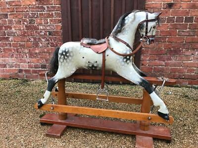 Genuine Antique + Original F H Ayres Rocking Horse Birthday Gift Worldwide Ship • 1,250£