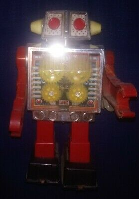 Vintage Robot Horikawa - Gear Robot -made In Japan - Working Still Sparks.  • 89.99£