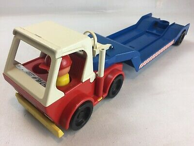 Vintage Truck With Trailer Toy, Jean West Germany, 8510 Furth, Very Rare Prop • 24.95£