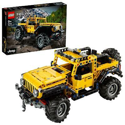 LEGO 42122 Technic Jeep Wrangler 4x4 Toy Car, Off Roader SUV Model Building Set • 44.95£