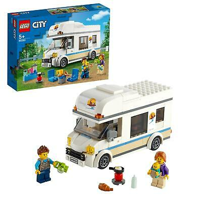 LEGO 60283 City Great Vehicles Holiday Camper Van Toy • 19.95£