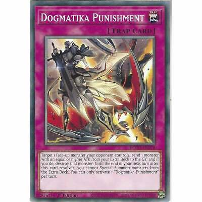 ROTD-EN070 Dogmatika Punishment 1st Edition Common YuGiOh Trading Card Trap TCG • 0.99£