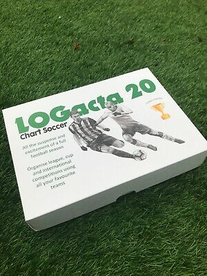 NEW LOGacta 20 Chart Soccer - Redesigned And Updated Version! • 35£