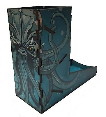 'Old One' Dice Tower, Cthulu, Role Playing, Horror, Board Games, 40k, D&D • 10£