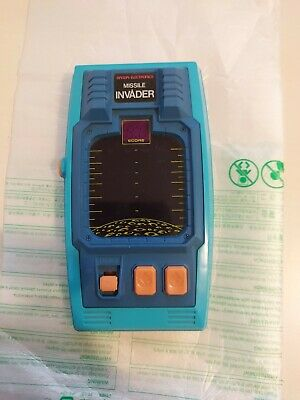 Bandai Electronics Missile Invader 1980 Handheld LSI LED Electronic Game • 14.99£