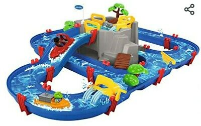 AquaPlay 8700001542 Waterway Table | Mountain Lake Water Play Canal System Toy • 70£