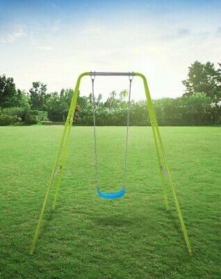 ▪︎NEW▪︎Kids Metal Framed Single Swing▪︎Outdoor Toys▪︎Garden▪︎Childrens▪︎LE10▪︎ • 20£