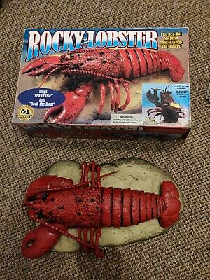 Rocky The Singing Lobster With Box.  • 20£