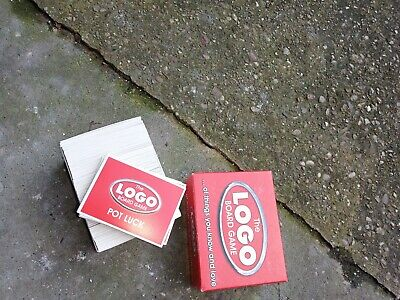 Box Of Spare Cards For The Logo Board Game • 4.50£