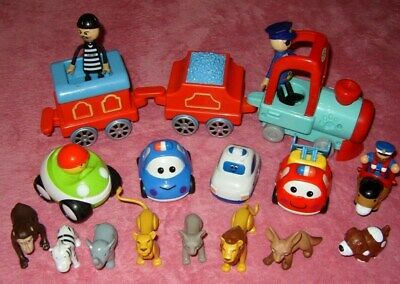 Bundle Train With Sounds Cars And Animals Chad Valley  • 7£
