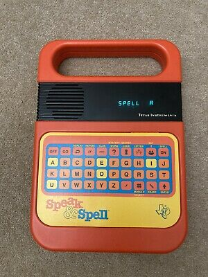 Vintage Texas Instruments Speak & Spell Working In Box. • 14.50£