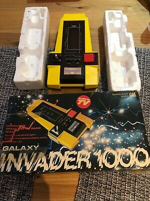 Galaxy Invader 1000 By CGL Vintage 1980's Handheld Electronic Game Working/BOXED • 100£