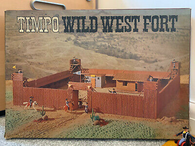 Timpo Wild West Fort - Timpo Toys - Model Toys - Vintage Toys • 42£