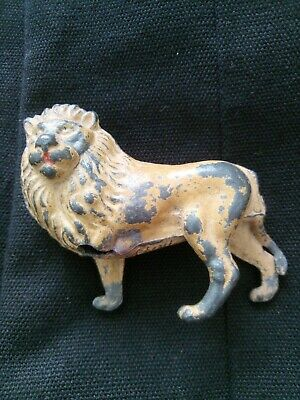Male Lion 'Cherilea' Vintage Lead Animal • 1.20£