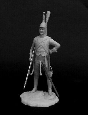 Tin Soldier, White Metal Kit 54 Mm. Private Dragoon Regiments, France 1809-11 • 14.62£