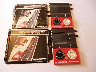 Lot X 2 Boxed Vintage Scalextric Classic Track Lapcounters C277 • 15.99£