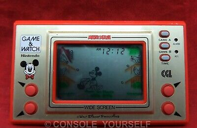 Mickey Mouse Game And Watch - Used - 1981 - Cgl - Nintendo - Disney - Uk Seller • 99.99£