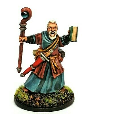 Wizard Miniature, Painted, RPG/D&D/Frostgrave/Fantasy/wargames/skirmish • 15£