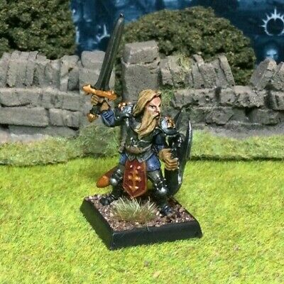 Beautifully Painted Metal Fighter Warrior Miniature - Frostgrave D&D RPG #2 • 14.99£