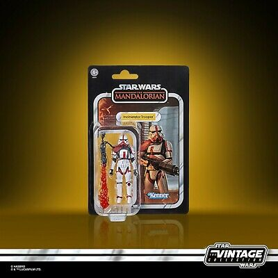 Star Wars The Vintage Collection Incinerator Trooper 3.75  Action Figure • 19.99£