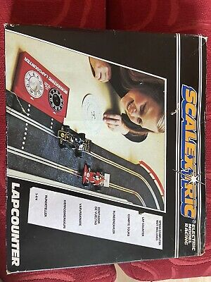 Vintage Scalextric Lap Counter C277 Boxed • 10£