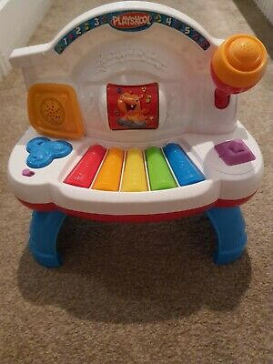 Playskool Rocktivity Rollin' Tunes Piano Toy English / Spanish  • 6£