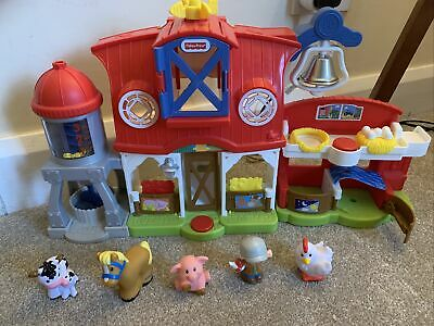 Fisher Price Little People Caring For Animals Farm • 16£