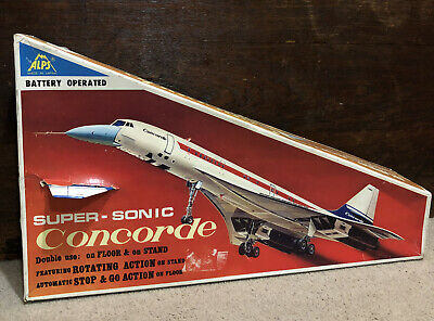 Battery Operated Super Sonic Concorde • 50£