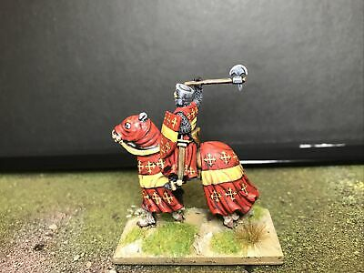 28mm Barons War Earl Of Warwick. Excellent Painted Curteys Miniature • 50£