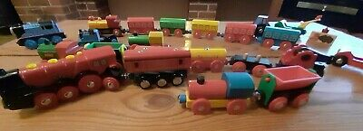 Numerous Wooden Brio/Compatible  Trains Including Thomas The Tank Engine  • 12.99£