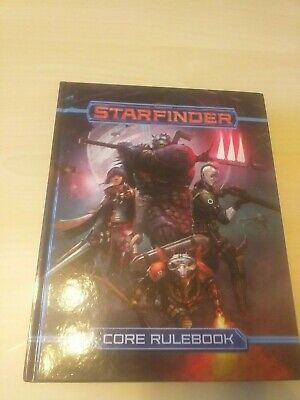 Starfinder Roleplaying Game [RPG] - Core Rulebook By Paizo (Hardcover) • 24£