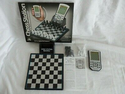 Chess Station Electronic Chess 2 In 1 Game Model 975 VGC • 29.99£