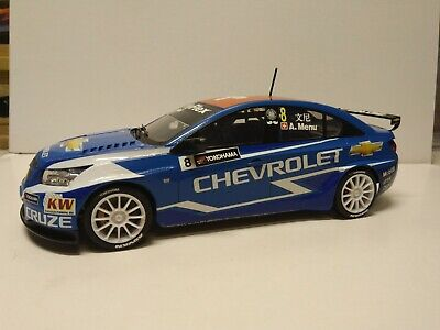 1/24th Beemax Chevrolet Cruze Alain Menu Driven WTCC Box Stock Built Model. • 35£